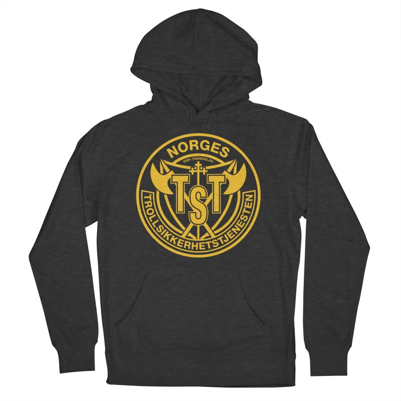 Troll Security service Men's Pullover Hoody by synaptyx's Artist Shop