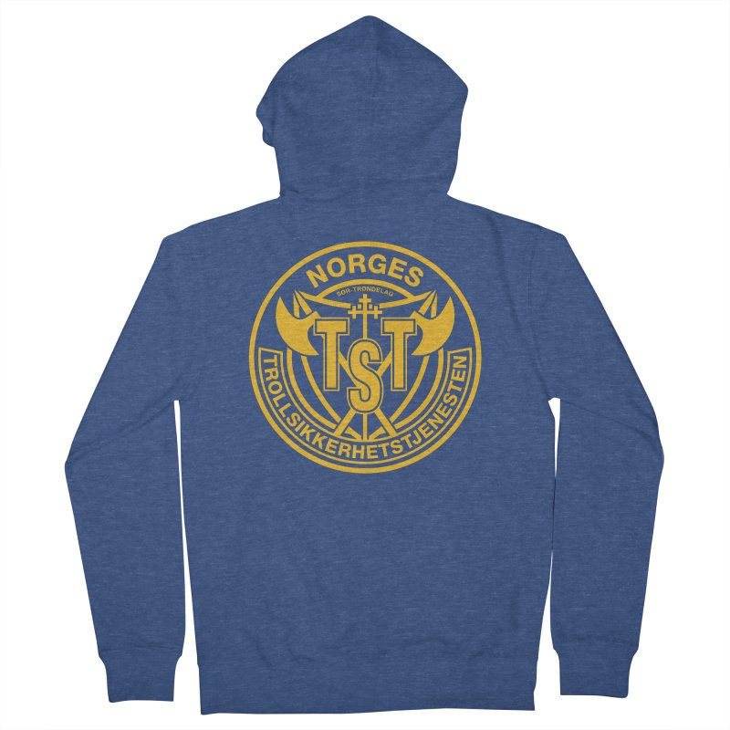Troll Security service Women's Zip-Up Hoody by synaptyx's Artist Shop