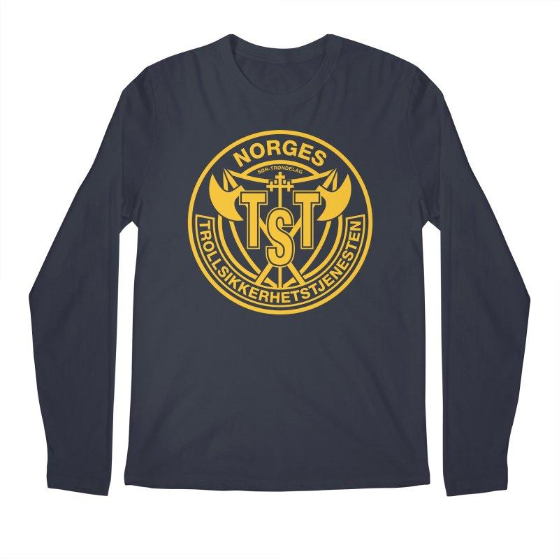Troll Security service Men's Longsleeve T-Shirt by synaptyx's Artist Shop
