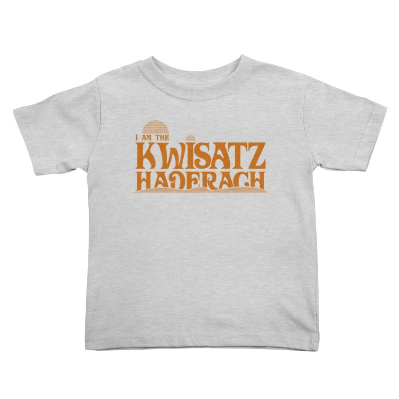 Kwisatz Haderach Kids Toddler T-Shirt by synaptyx's Artist Shop