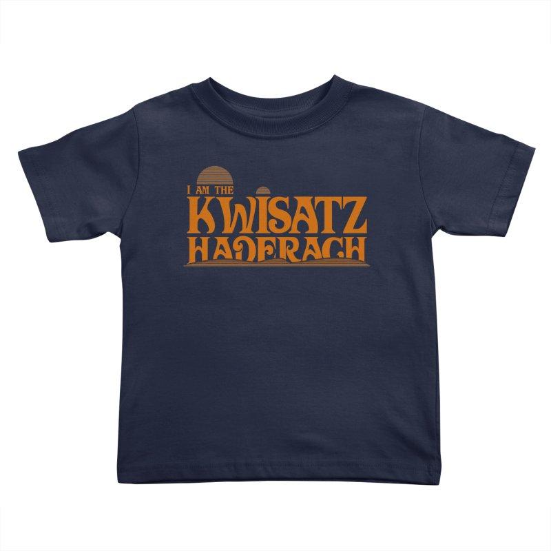 Kwisatz Haderach Kids Toddler T-Shirt by synaptyx's Artist Shop