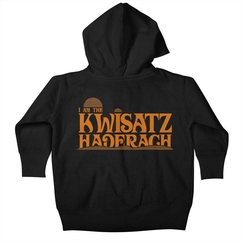 Kwisatz Haderach Kids Baby Zip-Up Hoody by synaptyx's Artist Shop