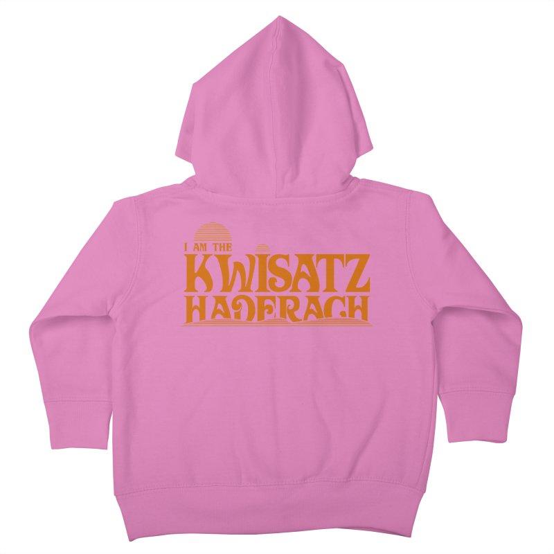 Kwisatz Haderach Kids Toddler Zip-Up Hoody by synaptyx's Artist Shop