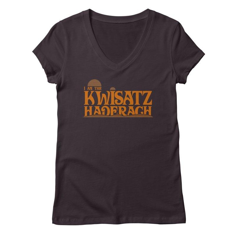 Kwisatz Haderach Women's V-Neck by synaptyx's Artist Shop