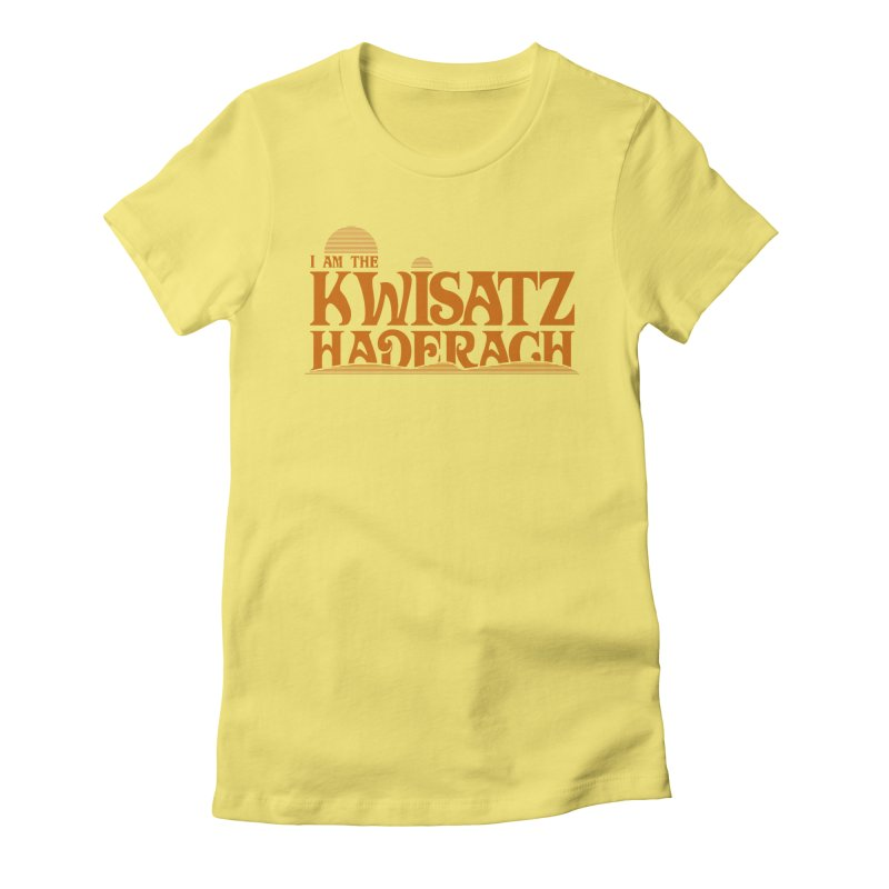 Kwisatz Haderach Women's Fitted T-Shirt by synaptyx's Artist Shop
