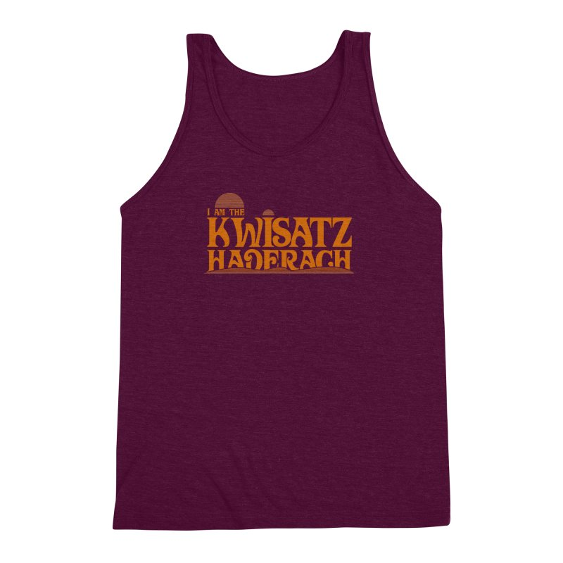 Kwisatz Haderach Men's Triblend Tank by synaptyx's Artist Shop