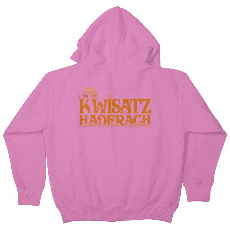 Kwisatz Haderach Kids Zip-Up Hoody by synaptyx's Artist Shop