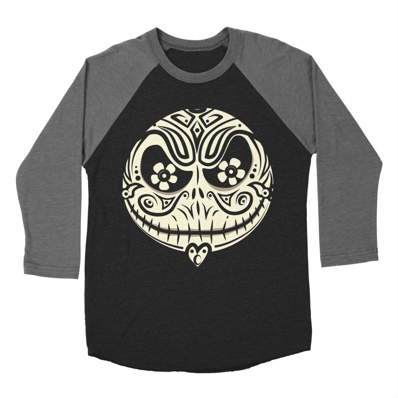 Jack De Los Muertos Women's Baseball Triblend T-Shirt by synaptyx's Artist Shop