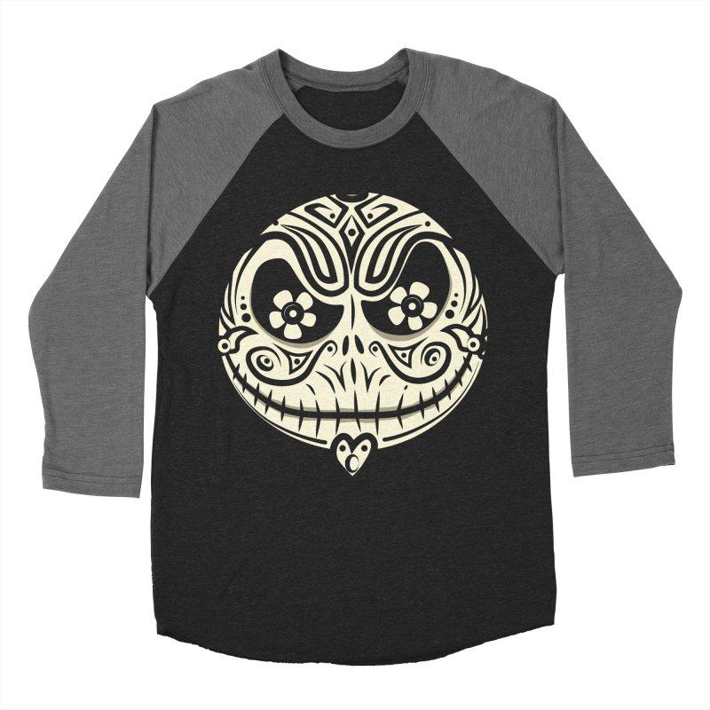 Jack De Los Muertos Men's Baseball Triblend T-Shirt by synaptyx's Artist Shop