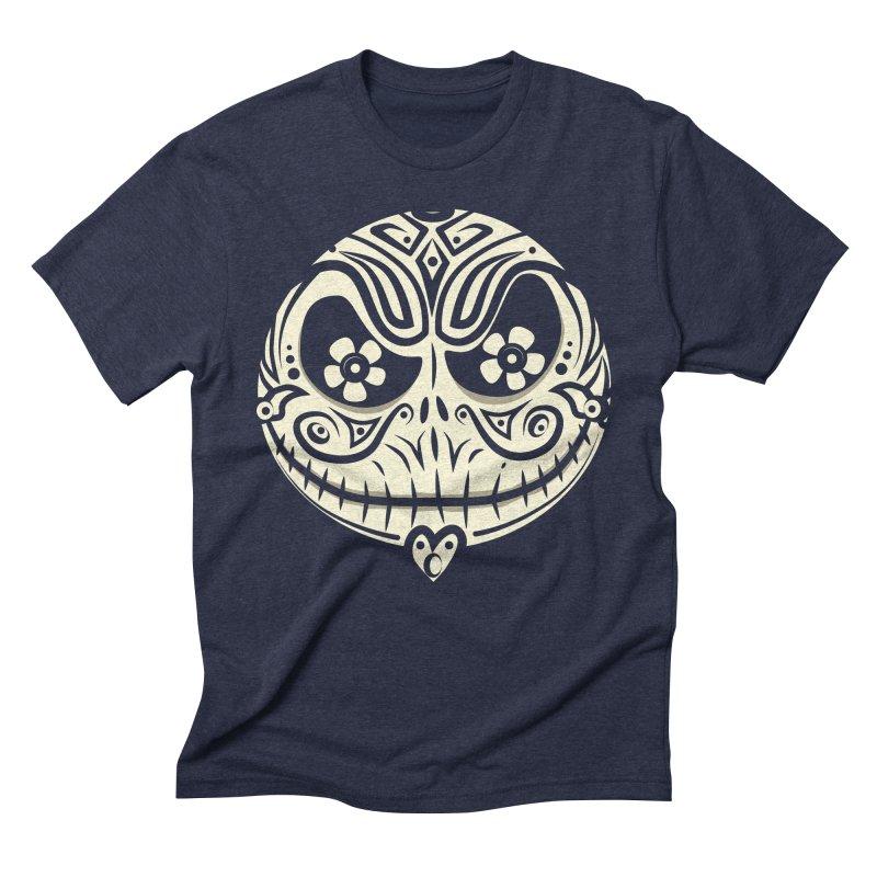 Jack De Los Muertos Men's Triblend T-shirt by synaptyx's Artist Shop