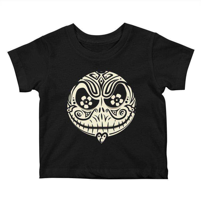 Jack De Los Muertos Kids Baby T-Shirt by synaptyx's Artist Shop