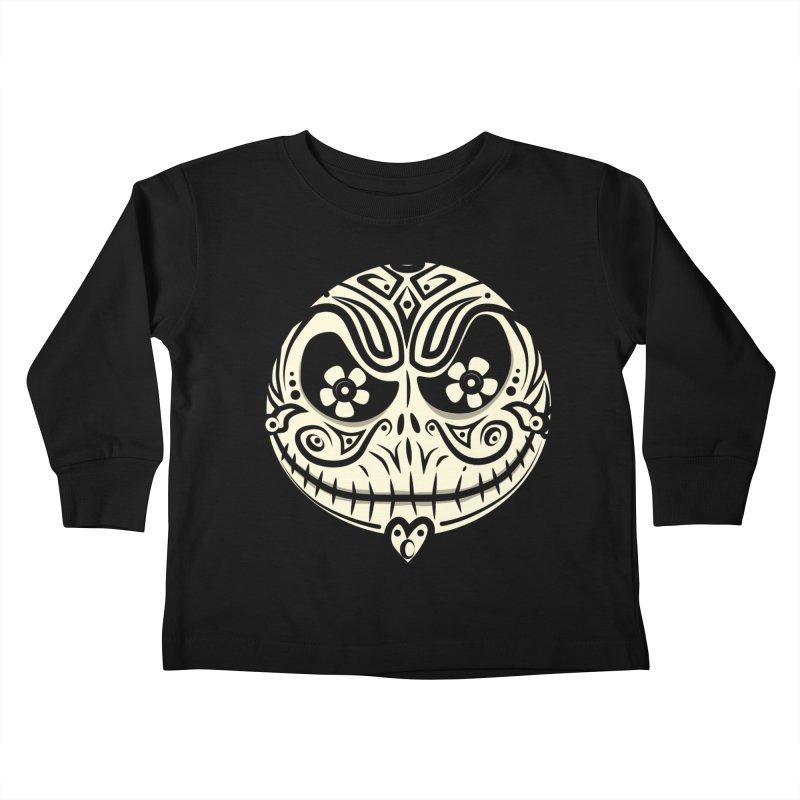 Jack De Los Muertos Kids Toddler Longsleeve T-Shirt by synaptyx's Artist Shop