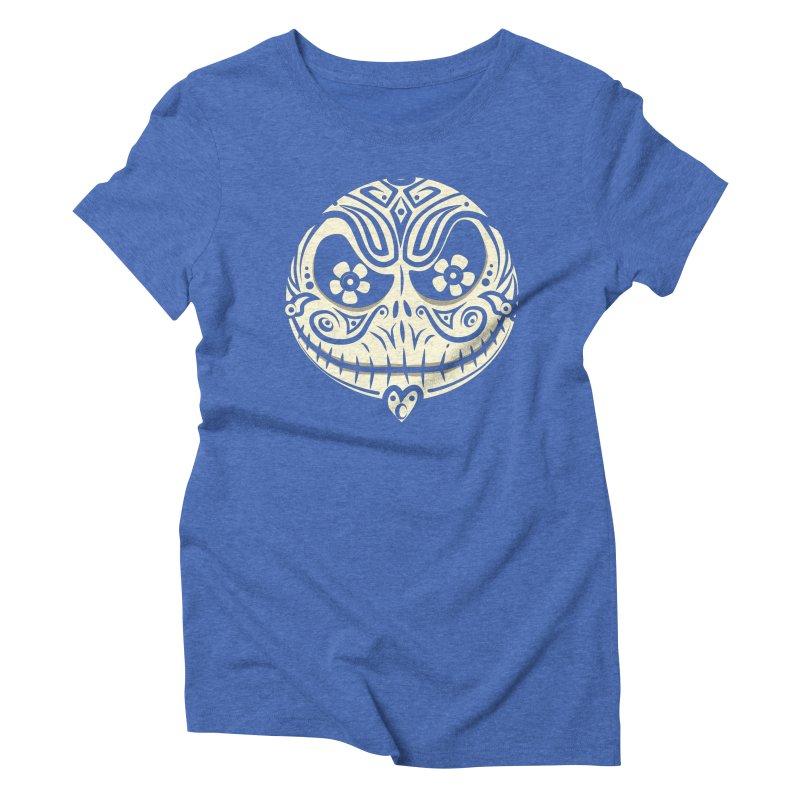 Jack De Los Muertos Women's Triblend T-Shirt by synaptyx's Artist Shop