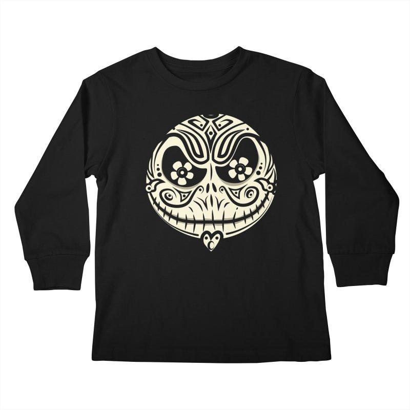 Jack De Los Muertos Kids Longsleeve T-Shirt by synaptyx's Artist Shop