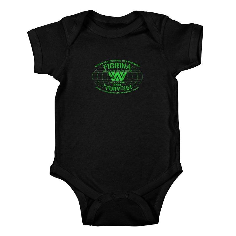 Fiorina Fury 161 Kids Baby Bodysuit by synaptyx's Artist Shop