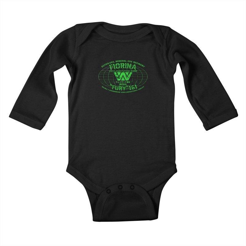 Fiorina Fury 161 Kids Baby Longsleeve Bodysuit by synaptyx's Artist Shop