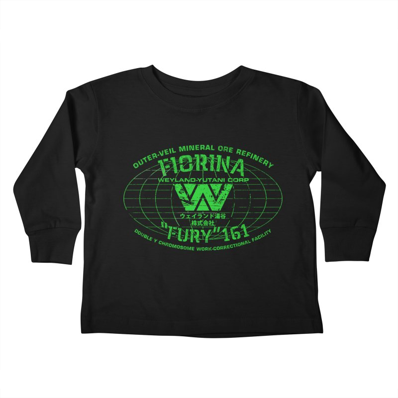 Fiorina Fury 161 Kids Toddler Longsleeve T-Shirt by synaptyx's Artist Shop