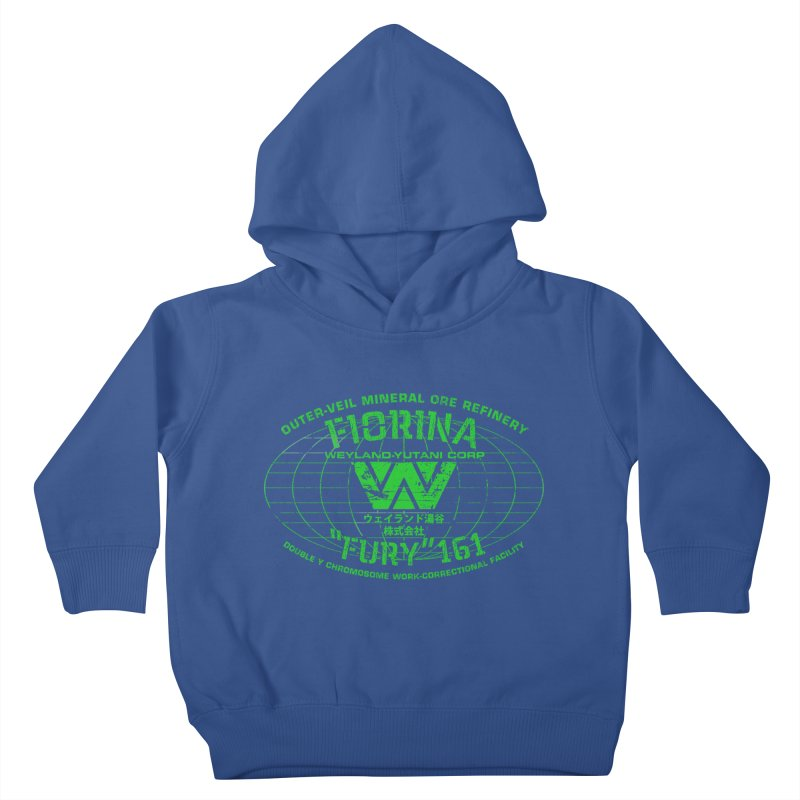 Fiorina Fury 161 Kids Toddler Pullover Hoody by synaptyx's Artist Shop