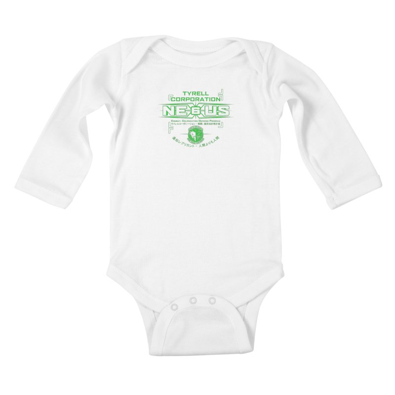Nexus 6 Kids Baby Longsleeve Bodysuit by synaptyx's Artist Shop