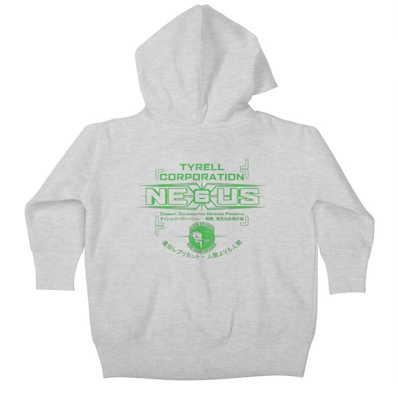 Nexus 6 Kids Baby Zip-Up Hoody by synaptyx's Artist Shop