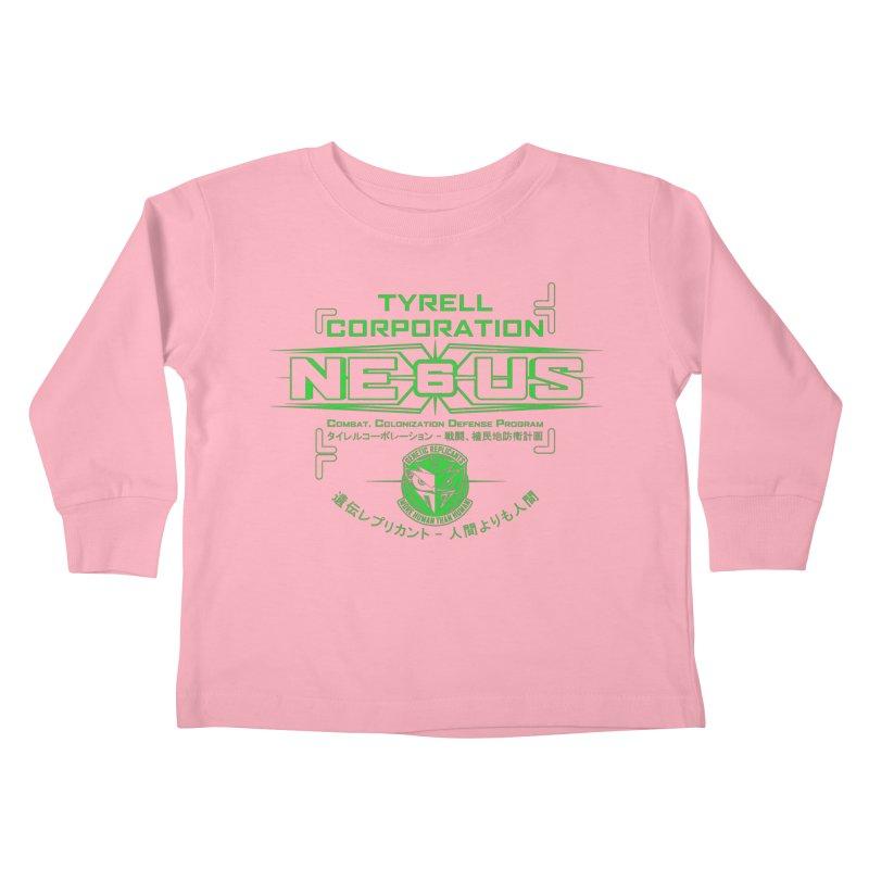 Nexus 6 Kids Toddler Longsleeve T-Shirt by synaptyx's Artist Shop
