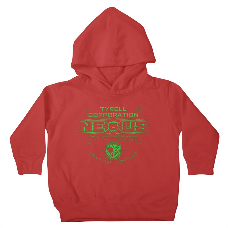 Nexus 6 Kids Toddler Pullover Hoody by synaptyx's Artist Shop