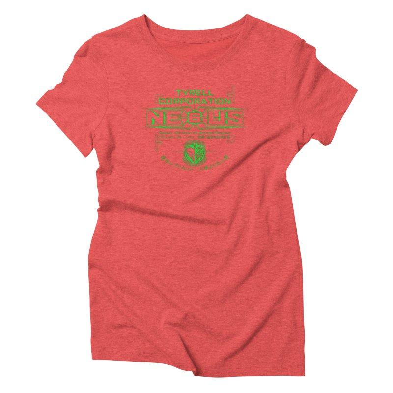 Nexus 6 Women's Triblend T-Shirt by synaptyx's Artist Shop