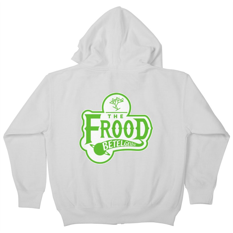 The Frood Kids Zip-Up Hoody by synaptyx's Artist Shop