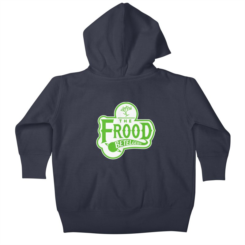 The Frood Kids Baby Zip-Up Hoody by synaptyx's Artist Shop