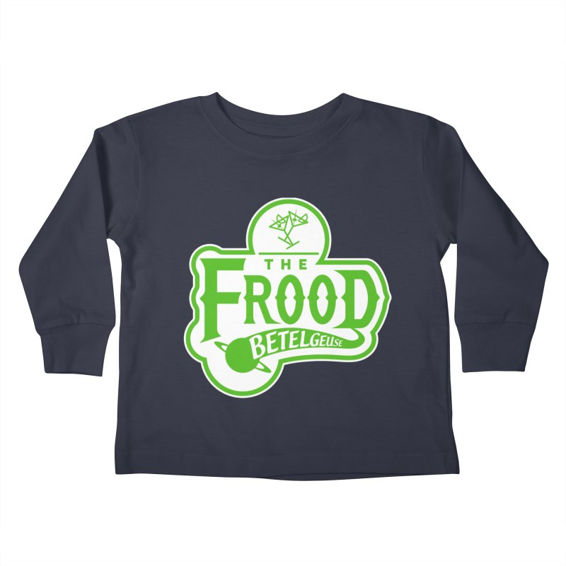 The Frood Kids Toddler Longsleeve T-Shirt by synaptyx's Artist Shop