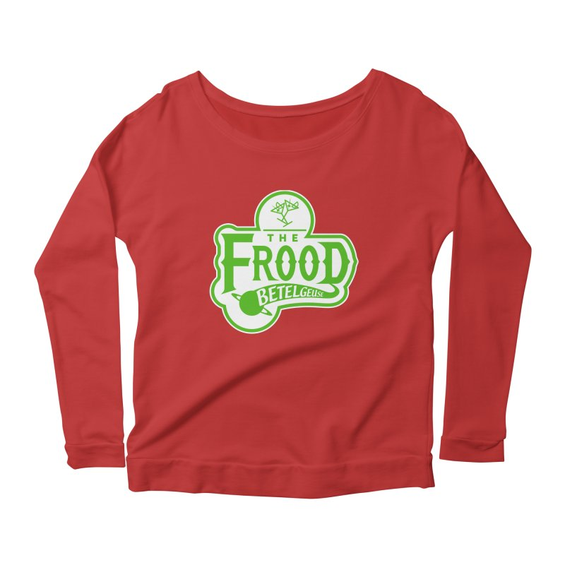 The Frood Women's Longsleeve Scoopneck  by synaptyx's Artist Shop
