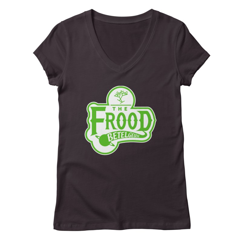 The Frood Women's V-Neck by synaptyx's Artist Shop