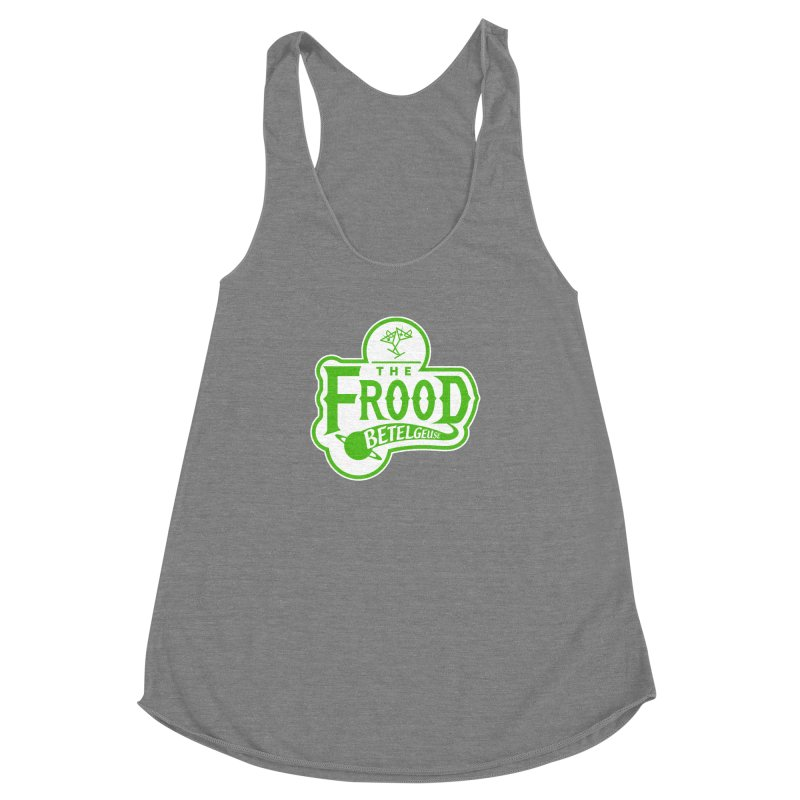 The Frood Women's Racerback Triblend Tank by synaptyx's Artist Shop