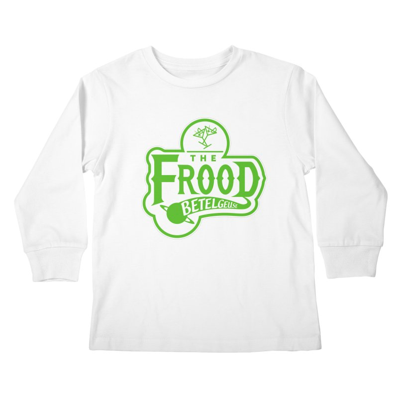 The Frood Kids Longsleeve T-Shirt by synaptyx's Artist Shop