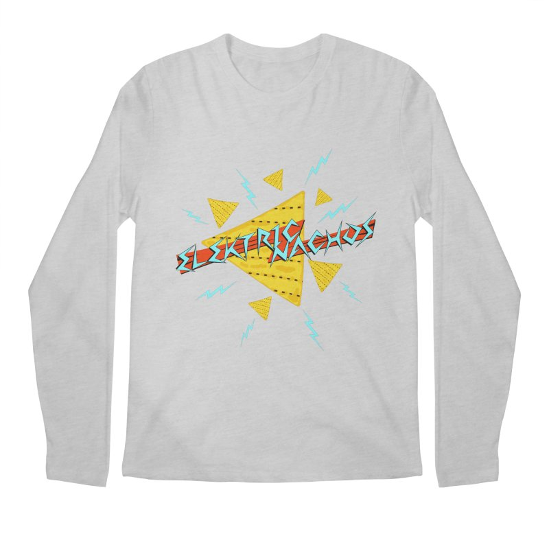 Elektric Nachos Men's Longsleeve T-Shirt by synaptyx's Artist Shop