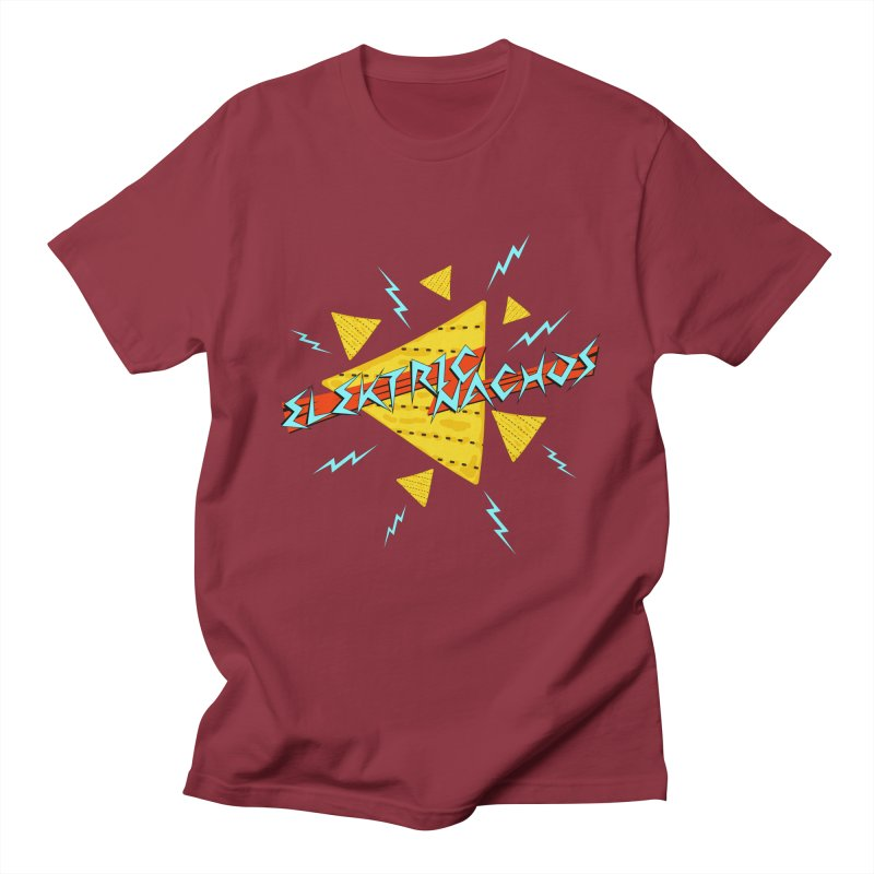 Elektric Nachos Men's T-Shirt by synaptyx's Artist Shop