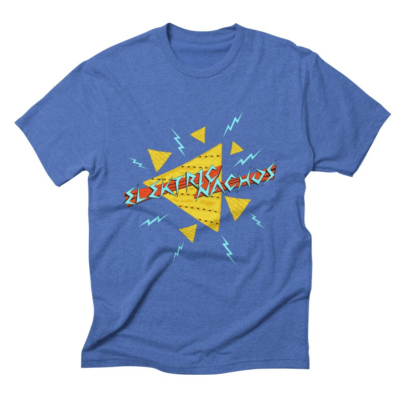 Elektric Nachos Men's Triblend T-Shirt by synaptyx's Artist Shop