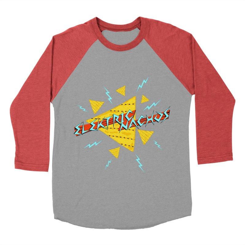 Elektric Nachos Women's Baseball Triblend T-Shirt by synaptyx's Artist Shop