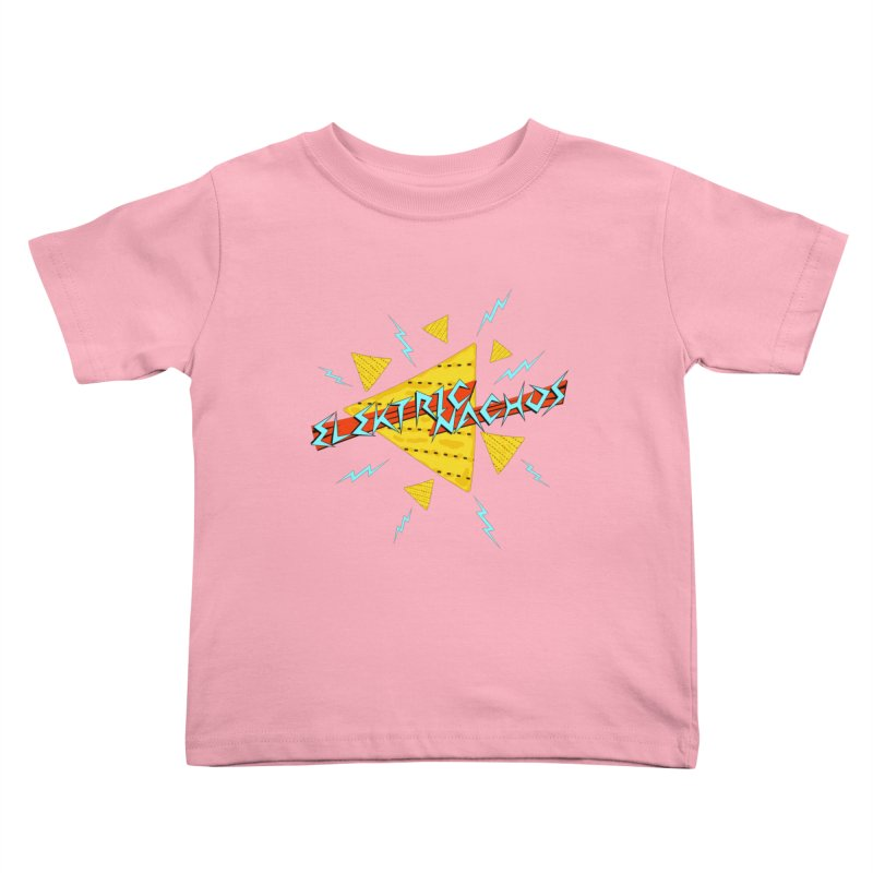 Elektric Nachos Kids Toddler T-Shirt by synaptyx's Artist Shop