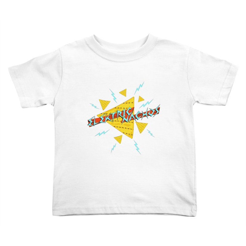 Elektric Nachos Kids Toddler T-Shirt by synaptyx's Artist Shop
