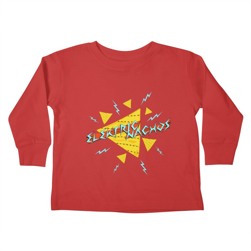 Elektric Nachos Kids Toddler Longsleeve T-Shirt by synaptyx's Artist Shop