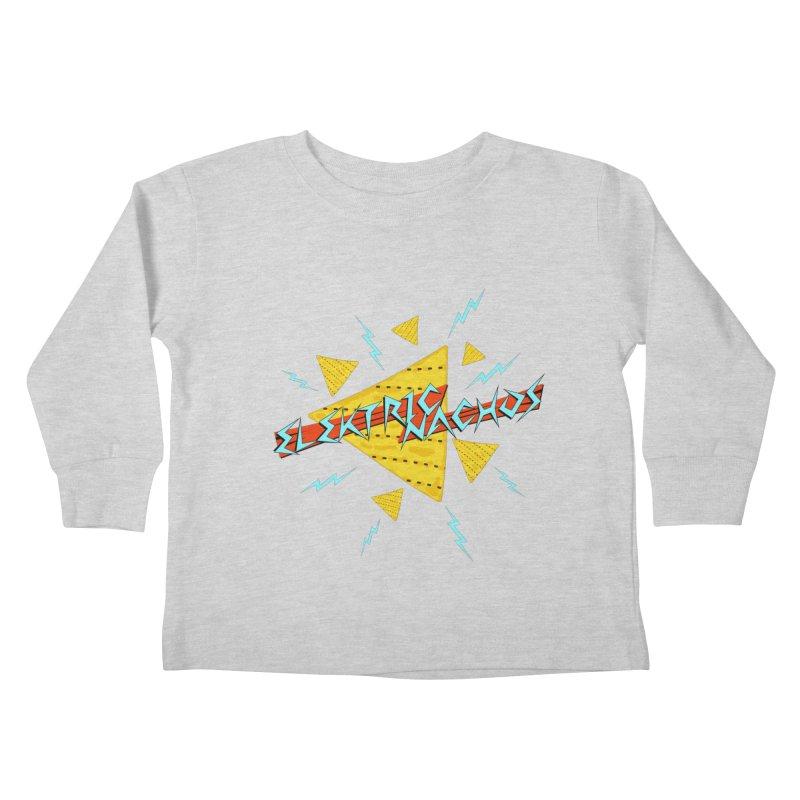 Elektric Nachos Kids Toddler Longsleeve T-Shirt by synaptyx's Artist Shop