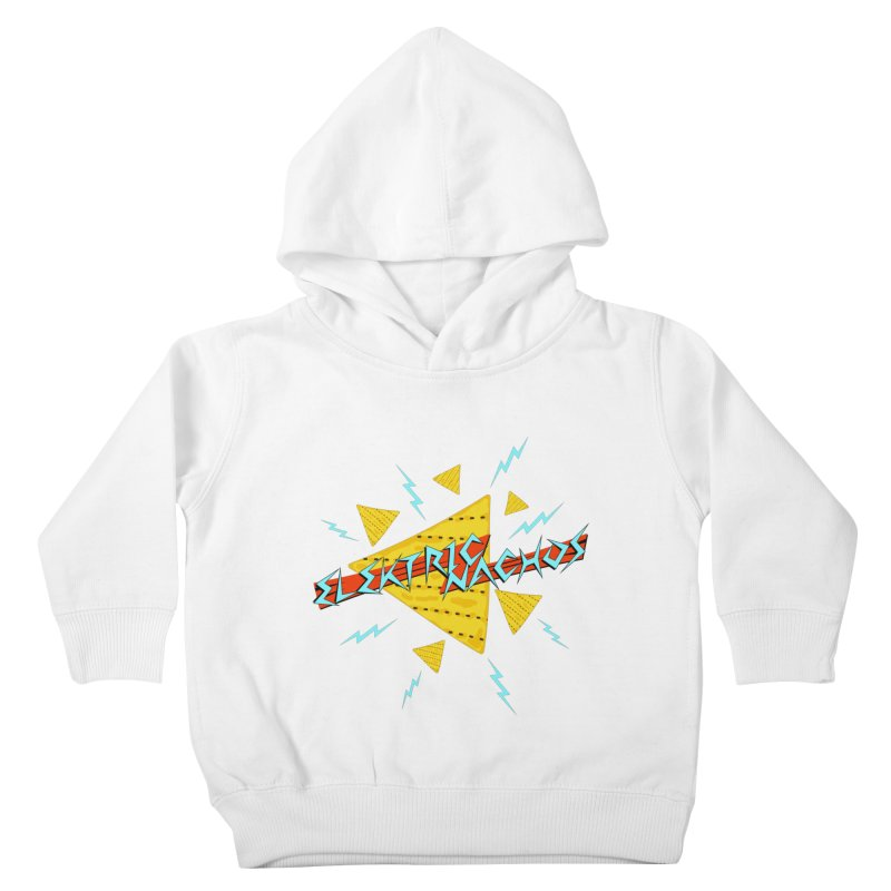 Elektric Nachos Kids Toddler Pullover Hoody by synaptyx's Artist Shop