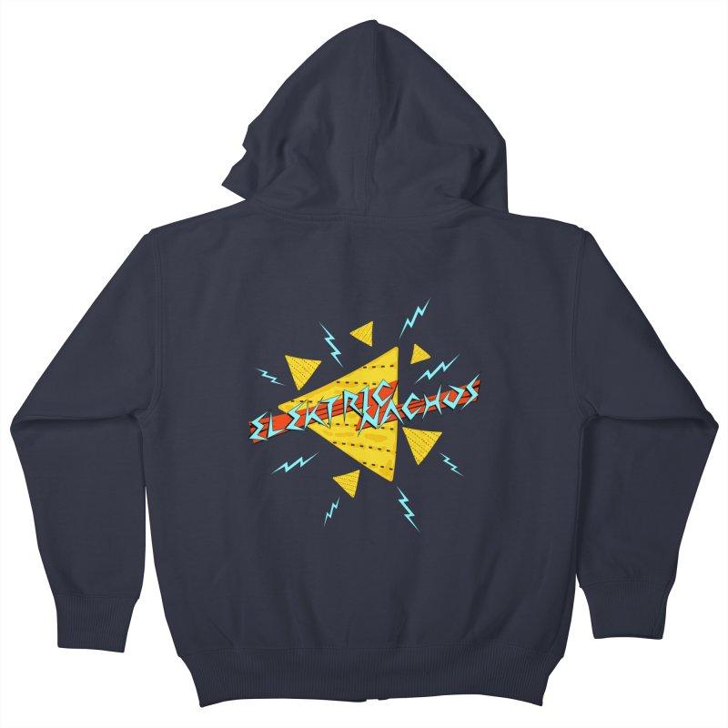 Elektric Nachos Kids Zip-Up Hoody by synaptyx's Artist Shop