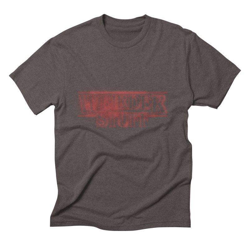 Weirder Stuff Men's Triblend T-shirt by synaptyx's Artist Shop