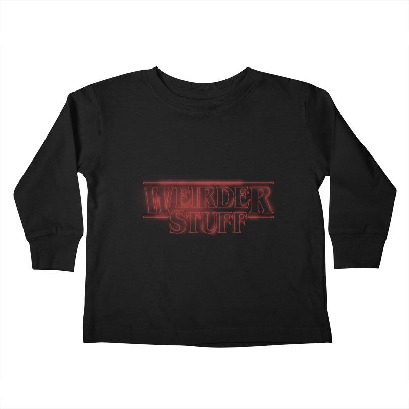 Weirder Stuff Kids Toddler Longsleeve T-Shirt by synaptyx's Artist Shop