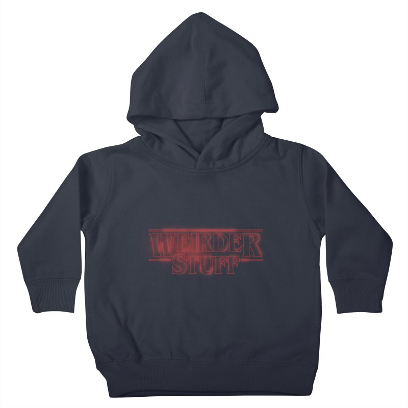 Weirder Stuff Kids Toddler Pullover Hoody by synaptyx's Artist Shop