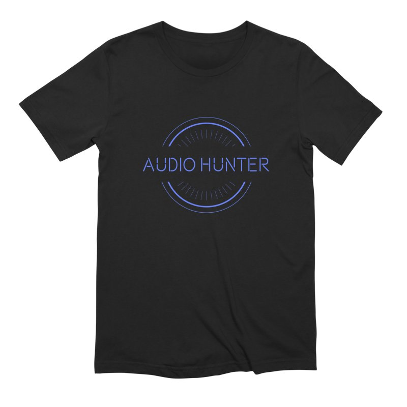 Audio Hunter Men's Extra Soft T-Shirt by Synchronized Music