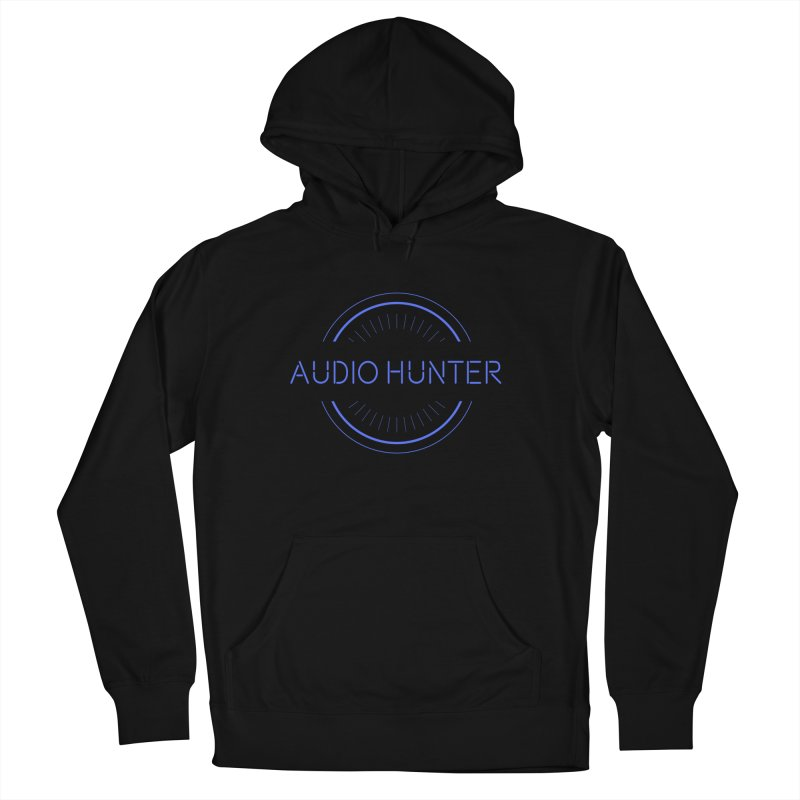 Audio Hunter Men's French Terry Pullover Hoody by Synchronized Music