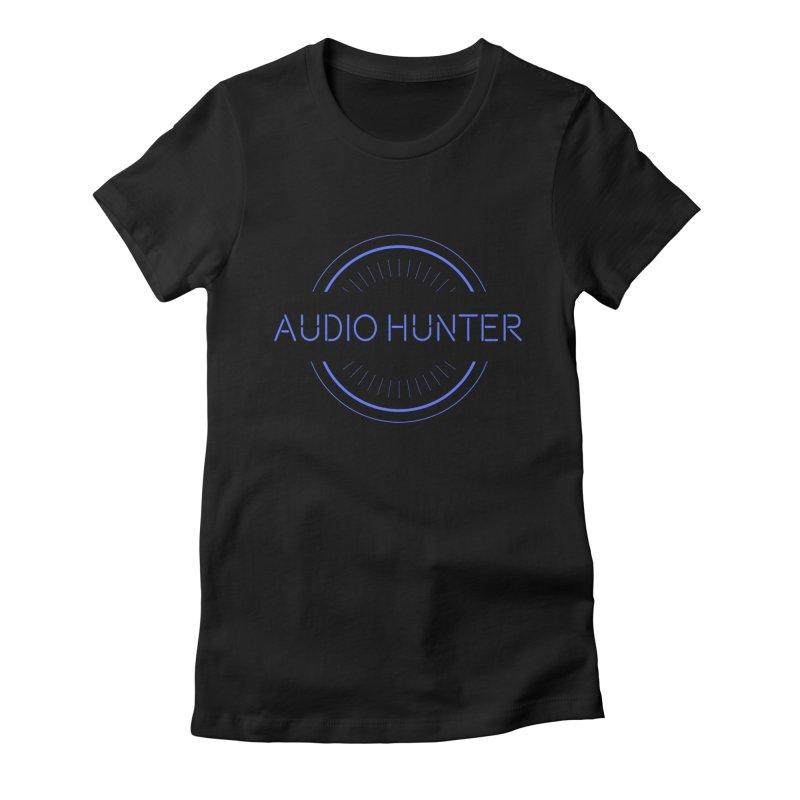 Audio Hunter Women's T-Shirt by Synchronized Music